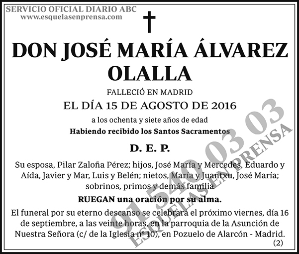José María Álvarez Olalla